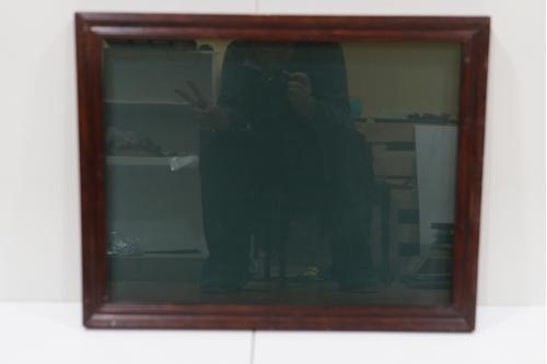 Рама со стеклом 52,2 х 66,3 см, толщ.3 см, шир. 4,1 см №234