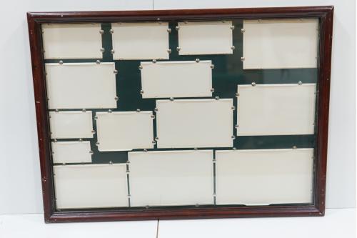 Рама со стеклом 74,3 х 54 см, толщ.3 см, шир. 3 см №237
