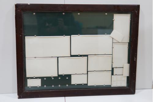 Рама со стеклом 75,3 х 57 см, толщ. 3 см, шир. 4,6 см, вн.0,5 см №233