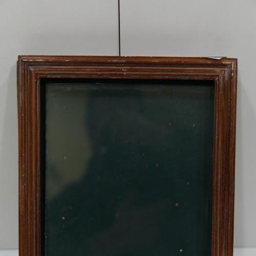 Рама со стеклом маленькая 28,9 х 23,7 см, Толщ.2,1 см, шир.2,5 см №240