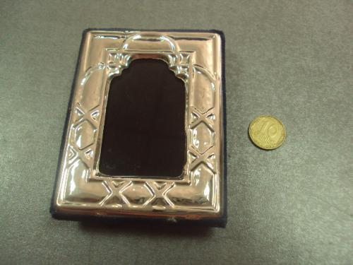 """рамка для фотографии или иконы серебро 925"""" 8,5 х 6,3 см №381"""