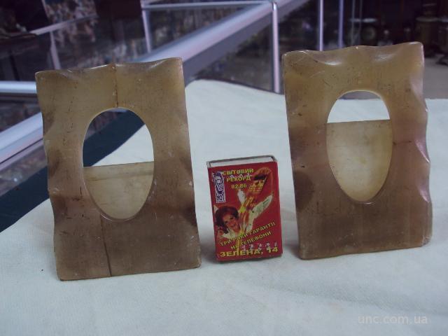 рамки для фото старинные 2 шт.