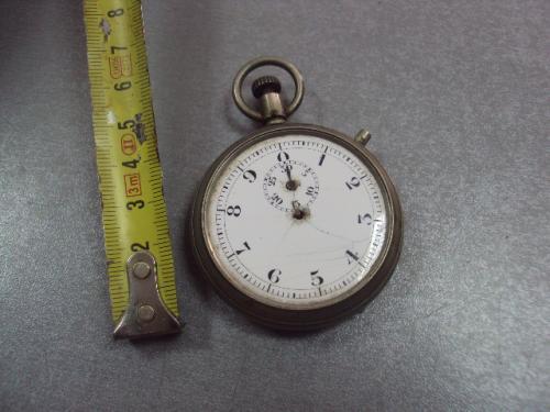 секундомер антикварный фарфоровый циферблат №3029