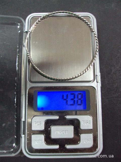 "серьга серебро 925"" ссср  4.38 г"