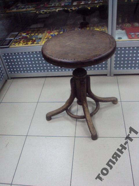 стул для пианино винтовой антикварный
