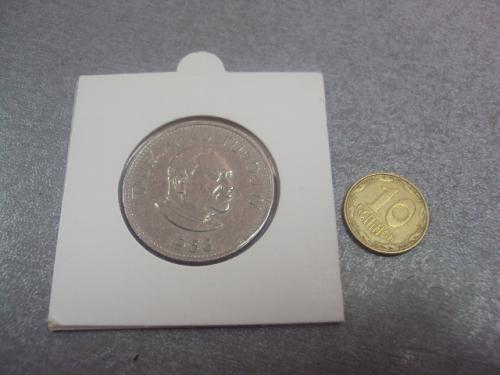 монета тонга 20 сенити 1968 №8053
