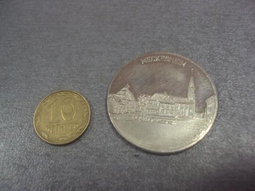 жетон медаль серебро германия meckesheim  №4