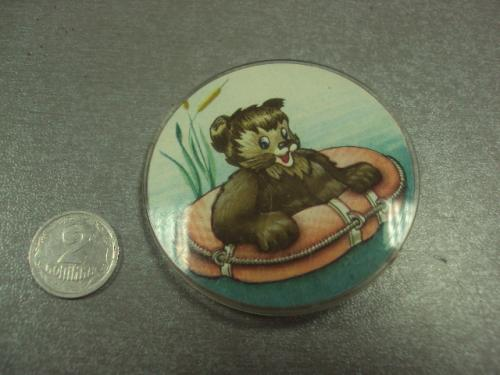 знак детский мишка спасательный круг №15303