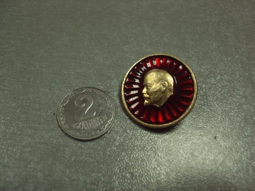 знак ленин флаг круглый  №6882