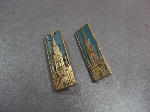 знак москва никольская башня архитектура лот 2 шт №4901