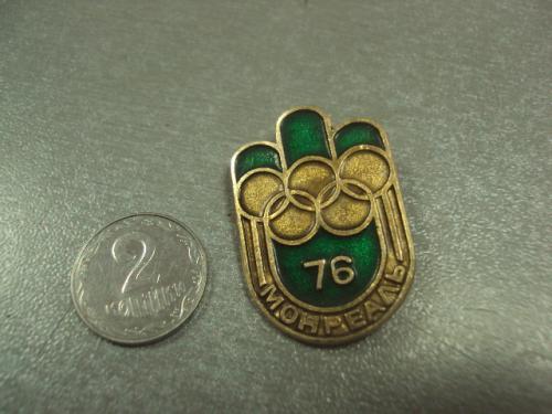 знак олимпиада монреаль  1976 №9180