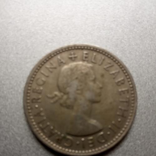 Монета один шылинг 1963г .Австрия