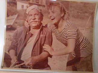 1960 Рабочее фото Артист Яковченко фильм Черноморочка