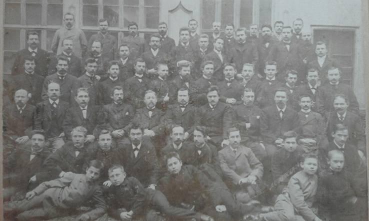 Дореволюционное групповое фото. Одесса.