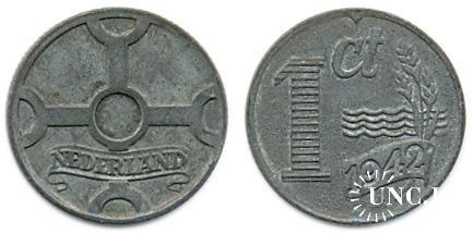 1 цент Ø17,0 мм. Zn, 2,00 г.