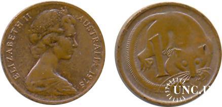 1 цент Ø17,5 мм. Bronze, 2,60 г.
