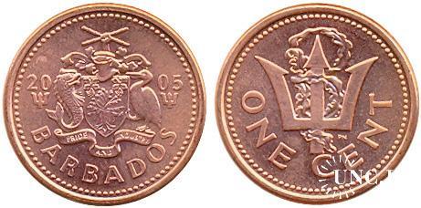 1 цент Ø19,0 мм. Zn(Cu), 2,50 г.