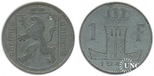 1 франк Ø21,5 мм. Zn, 4,25 г.