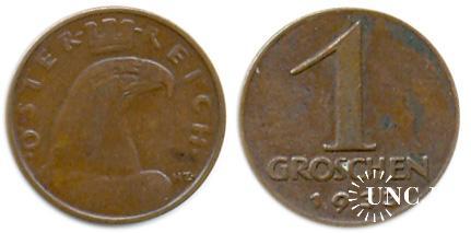 1 грошен Ø17 мм. Bronze, 1,66 г.