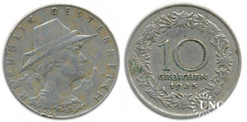 10 грошенів Ø22 мм. Cu-Ni, 4,50 г.