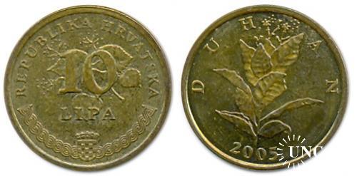 10 лип Ø20,0 мм. Fe(Bronze), 3,25 г.