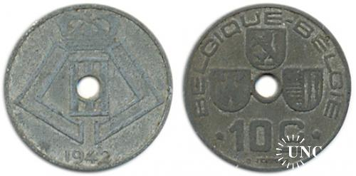 10 сантим Ø22,0 мм. Zn, 4,00 г.