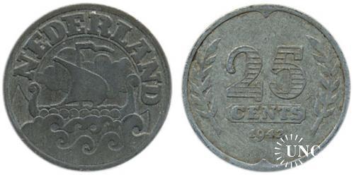 25 центів Ø26,0 мм. Zn, 5,00 г.