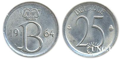 25 сантим Ø16,0 мм. Cu-Ni, 2,00 г.