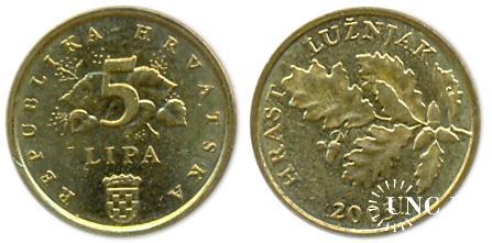 5 лип Ø18,0 мм. Fe(Bronze), 2,50 г.