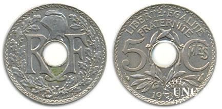 5 сантим Ø17,0 мм. Cu-Ni, 2,00 г.