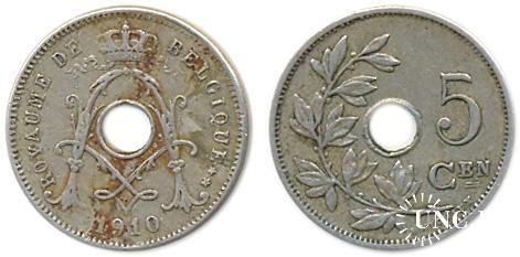 5 сантим Ø19,0 мм. Cu-Ni-Zn, 2,50 г.