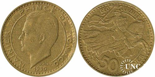 50 франків Al-Bronze