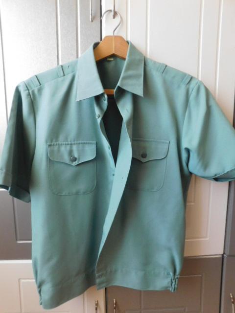 Рубашка офицерская, Украина, цвета полыни.