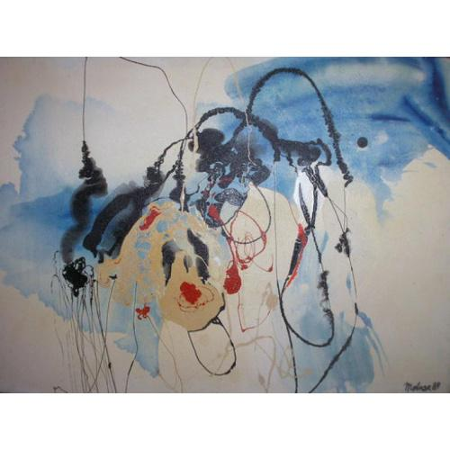 Картина художника Иштвана Молнара