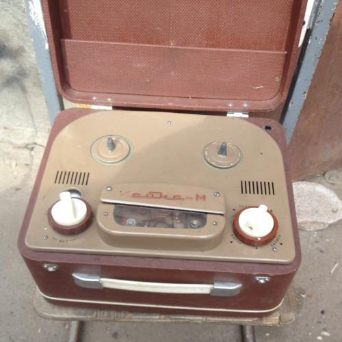 Бабинный магнитофон Чайка -М 1952 год