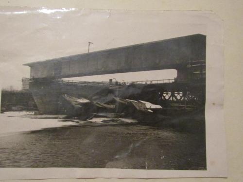 Фото Бетонной конструкции моста 1923 год