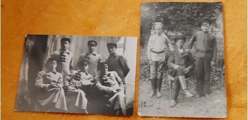 Фото Красноармейцы и их дети 20-30 годы