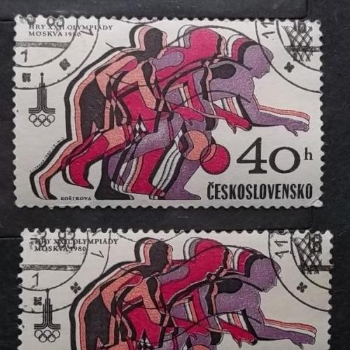 Чехословакия 1980 г - Олимпийские игры, Москва