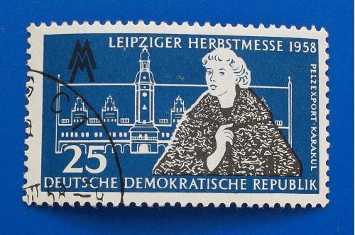 ГДР 1958 г - Лейпцигская осенняя ярмарка
