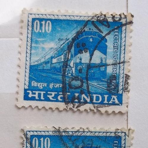 Индия 1966 г - Электровоз, 2 шт