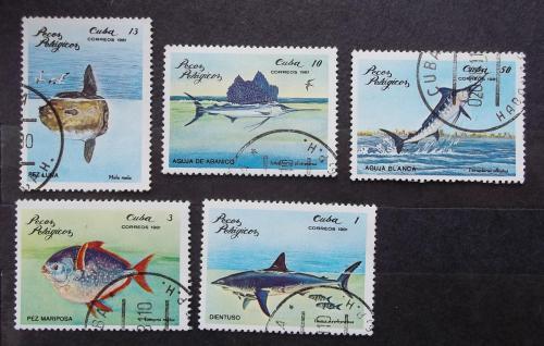 Куба 1981 г - Пелагические рыбы