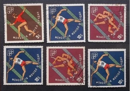 Монголия 1964 г - Олимпийские игры, Токио