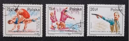 Польша 1987 г - победы польских спортсменов на чемпионатах