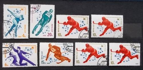 СССР 1980 г - XIII зимние Олимпийские игры в Лейк-Плэсиде