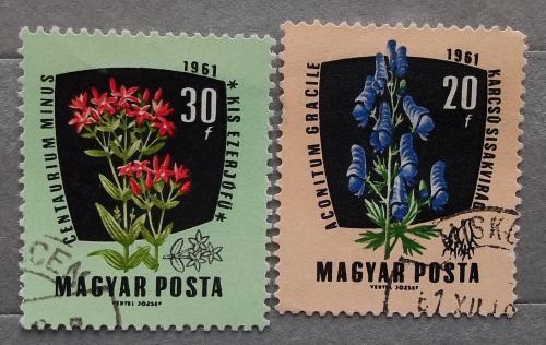 Венгрия 1961 г - Лекарственные растения