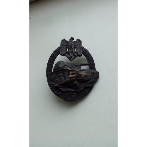 Немецкая награда танкистов от 1943года