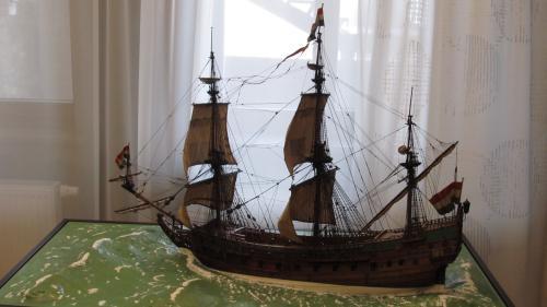 Модель корабля Ост-индской кампании Принц Виллем 1651 года постройки