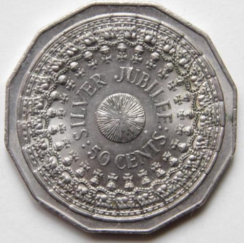 Австралия 50 цент 1977