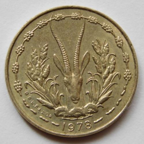 Западная Африка (BCEAO) 5 франков 1978