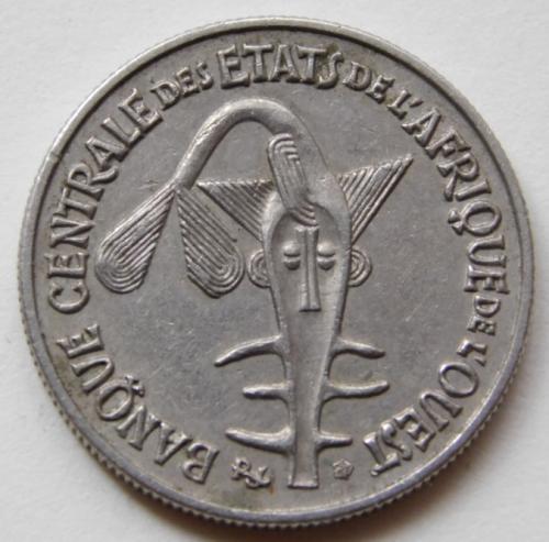 Западная Африка (BCEAO) 50 франков 1972